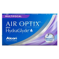 Air Optix® PLUS HydraGlyde® Multifocal 3 szt.