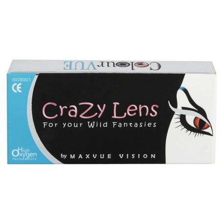 Crazy Lens UV Glow 2 szt. - soczewki świecące w UV