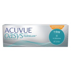 ACUVUE OASYS 1-Day with HydraLuxe for Astigamtism (30 sztuk)